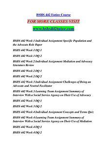 BSHS 442 TUTOR Great Stories Here/bshs442tutor.com