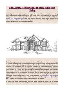 What Is A Contemporary or Modern Home Plans?
