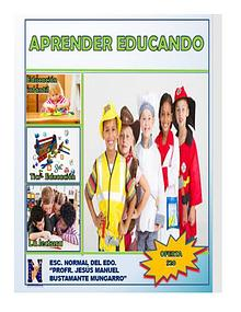 Revista ''Aprender Educando''