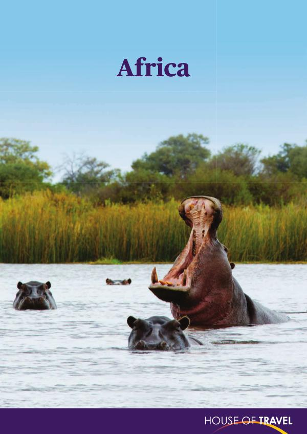 House of travel Africa Brochure 2017