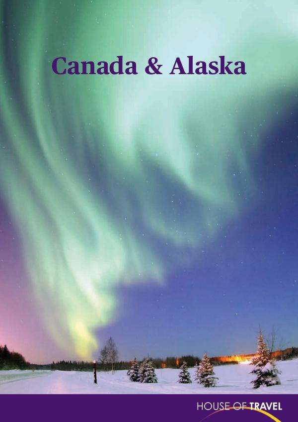 House of travel Canada & Alaska Brochure 2017