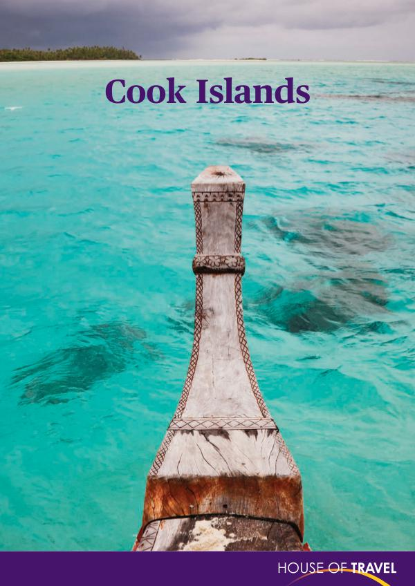 House of travel Cook Islands Brochure 2017