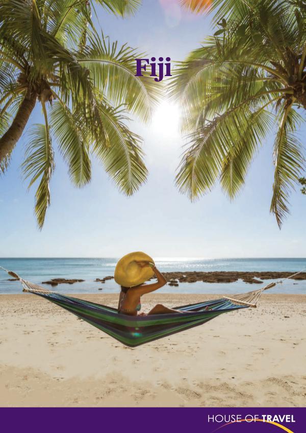House of travel Fiji Brochure 2017