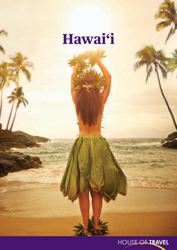 House of travel Hawaii Brochure 2017