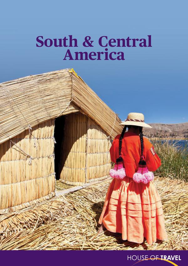 House of travel South and Central America Brochure 2017
