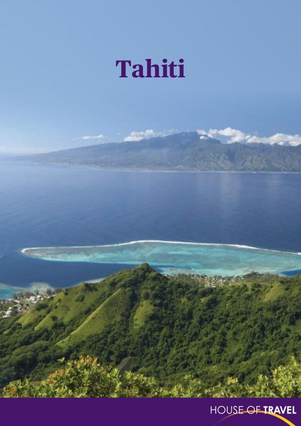 Tahiti Brochure 2017