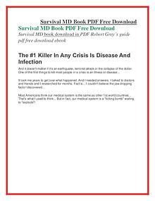 Survival MD PDF Free Download