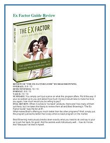 Ex Factor Guide PDF Free Download