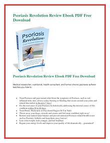Dan Crawford: Psoriasis Revolution PDF free download