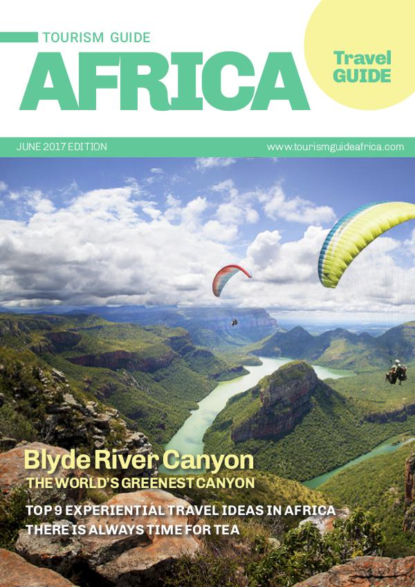 Tourism Guide Africa Travel Guide Tourism Guide Africa June issue