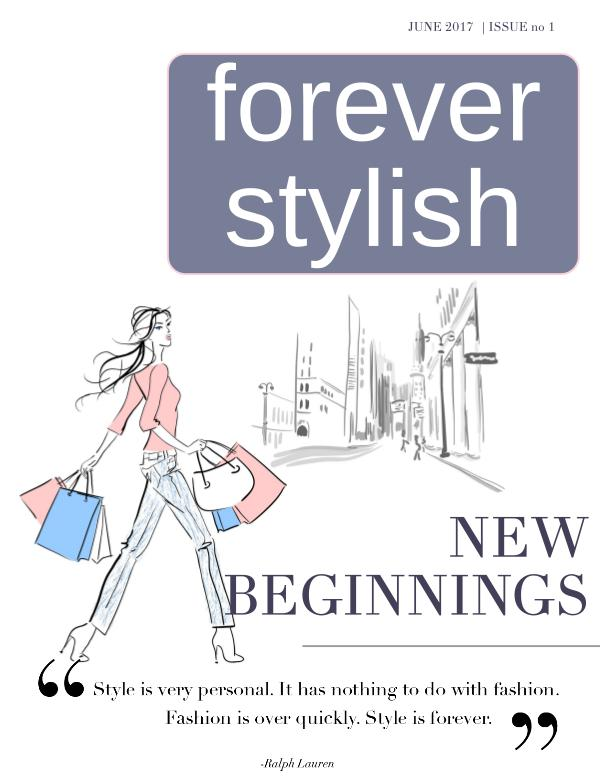 Forever Stylish Issue 1 June 2017