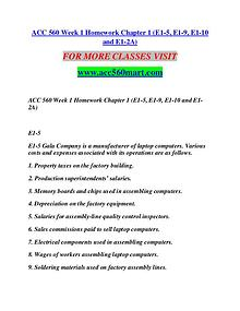 ACC 560 MART Motivated Minds/acc560mart.com