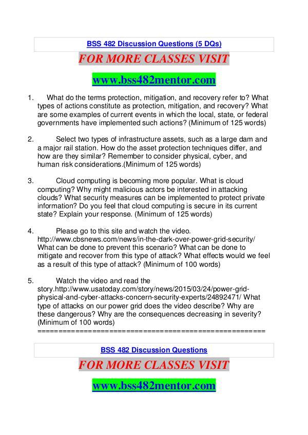BSS 482 MENTOR Great Stories Here/bss482mentor.com BSS 482 MENTOR Great Stories Here/bss482mentor.com