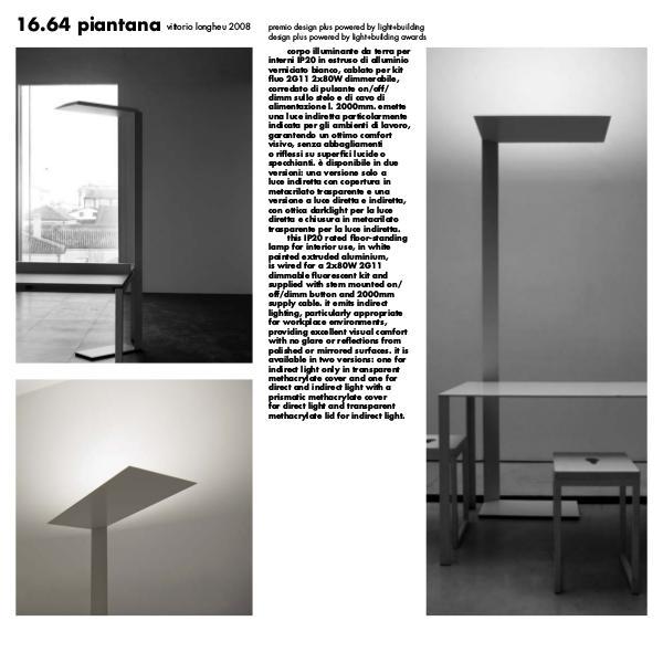 Viabizzuno by Cirrus Lighting - Architectural Lighting Range 1664 Piantana by Cirrus Lighting