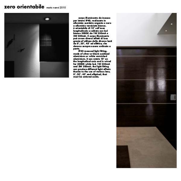 Viabizzuno by Cirrus Lighting - Architectural Lighting Range Zero Orientable by Cirrus Lighting