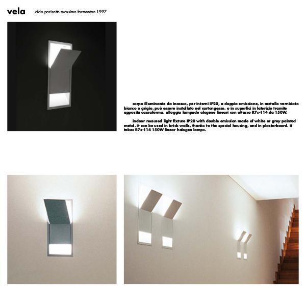 Viabizzuno by Cirrus Lighting - Architectural Lighting Range Vela by Cirrus Lighting