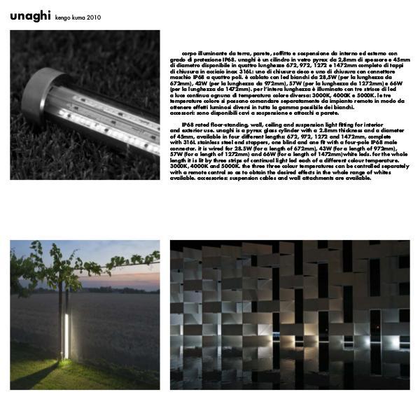 Viabizzuno by Cirrus Lighting - Architectural Lighting Range Unaghi by Cirrus Lighting