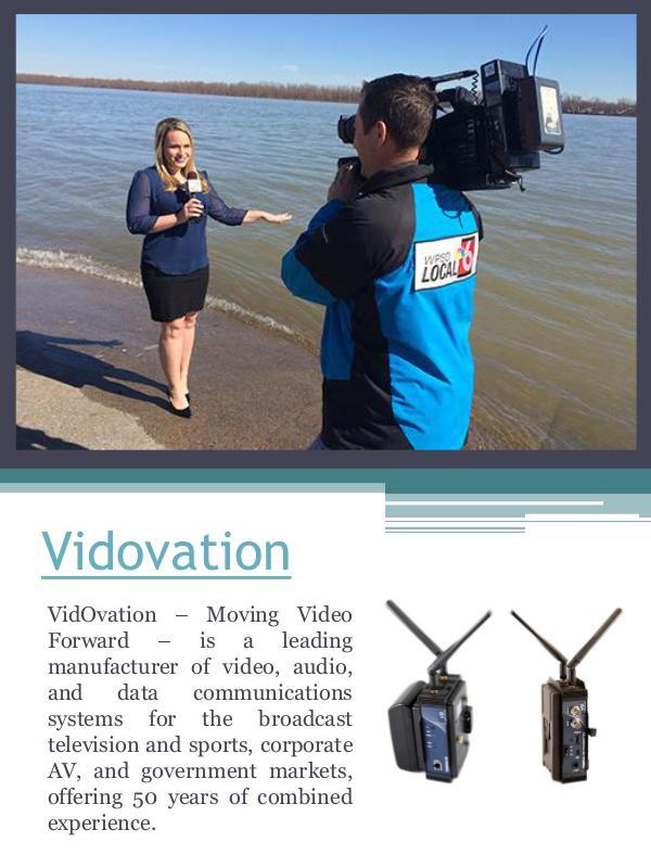 Enterprise IPTV Video Networking Vidovation Corporation
