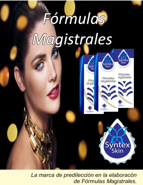 CATALOGO MAGISTRALES SYNTEX SKIN portafolio magistrales