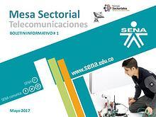 Boletín  01 Mesa Sectorial de Telecomunicaciones