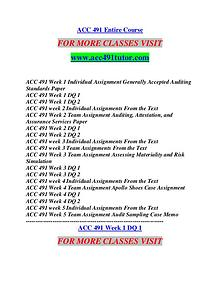ACC 491 TUTOR Motivated Minds/acc491tutor.com