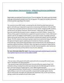 PharmaPoint: Colorectal Cancer - Global Drug Forecast and Market Anal