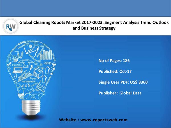 Global Cleaning Robots Market 2017-2023