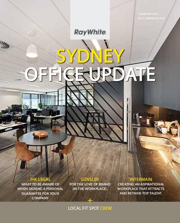 Sydney Office Update February Leasing Magazine