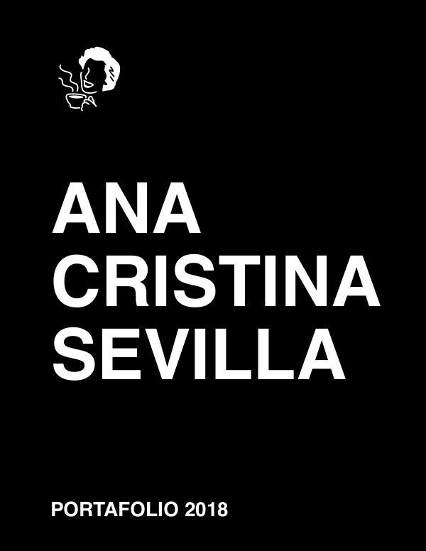 Ana Cristina Sevilla Portfolio PORTFOLIO 2018