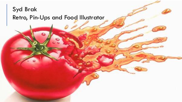 Stock Syd Brak -  Retro, Pin-Ups and Food Illustrator