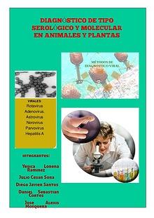 Diagnóstico de tipo serológico y molecular en animales