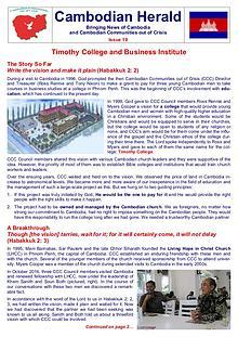Cambodian Herald Issue 19