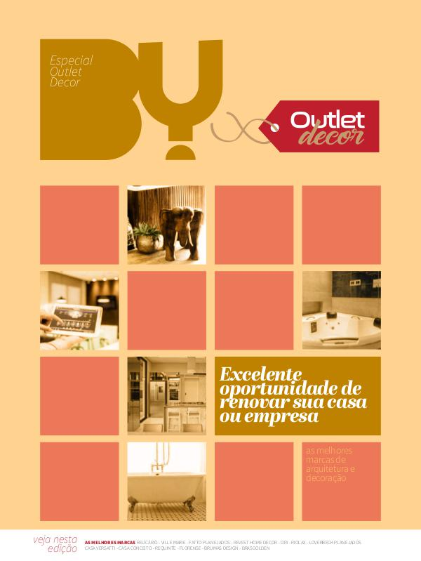 Revista BY edição especial Outlet Decor