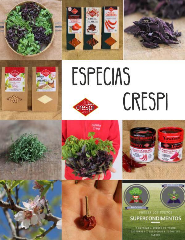 Catalogo ECO Especias Crespi Especias Crespi Catálogo ECO
