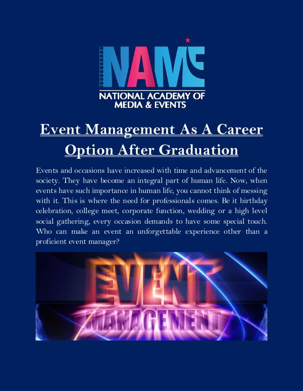 Event Management As A Career Option After Graduation Event_Management_As_A_Career_Option_After_Graduati