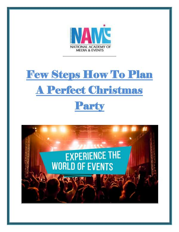 Few Steps How To Plan A Perfect Christmas Party Few_Steps_How_To_Plan_A_Perfect_Christmas_Party.PD