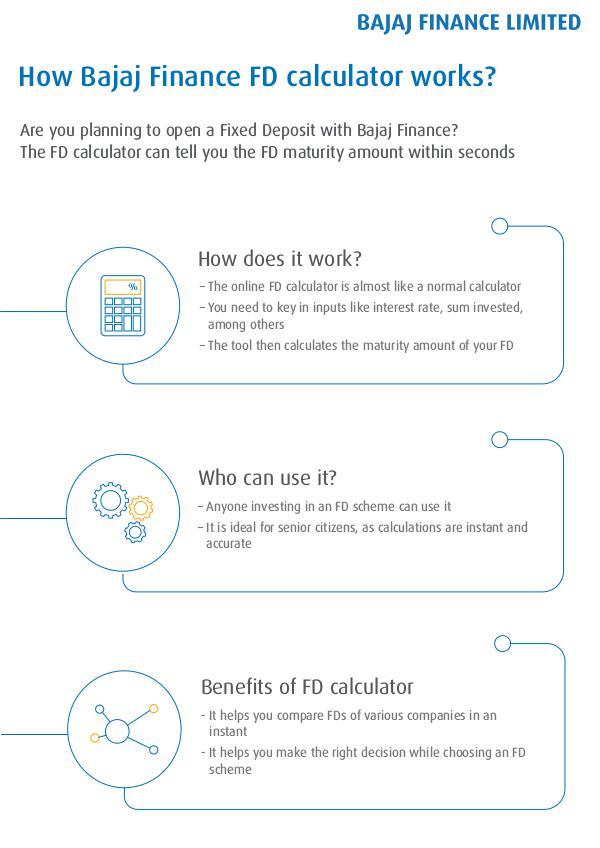How to Know Bajaj Finance FD calculator works? How Bajaj Finance FD calculator works