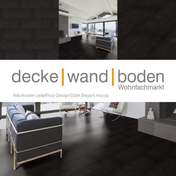 Corpet Lederboden / Lederfloor dwb Produktinformation LederFloor Eleganz mocca L7