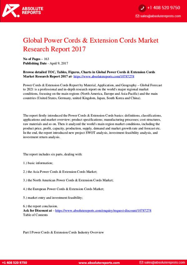 28-07-2017 Power-Cords-Extension-Cords-Market-Research-Report