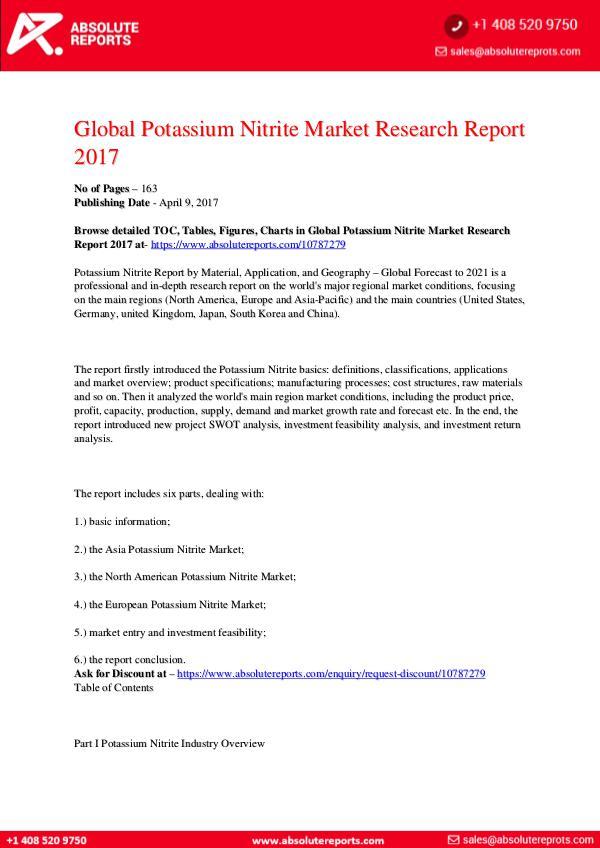 28-07-2017 Potassium-Nitrite-Market-Research-Report-2017