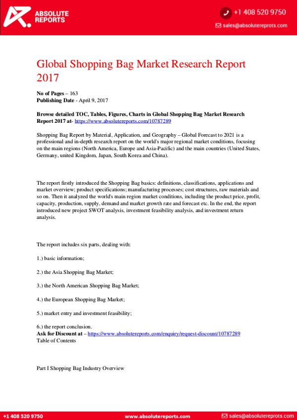 28-07-2017 Shopping-Bag-Market-Research-Report-2017