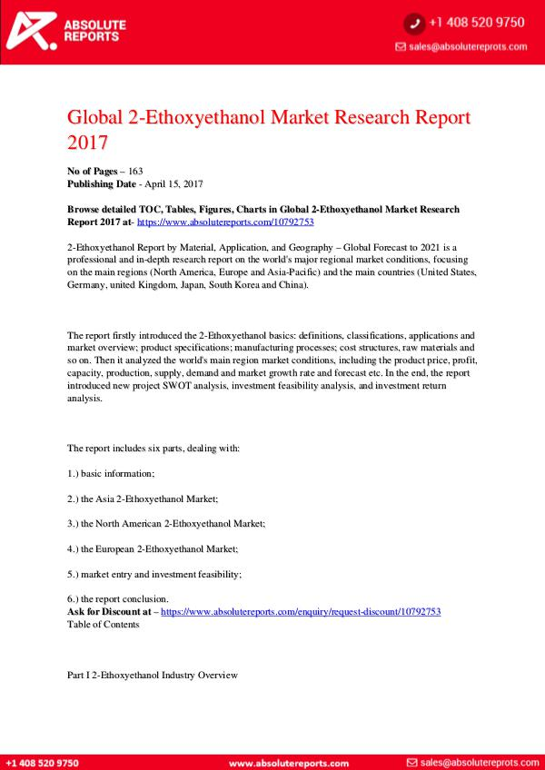 28-07-2017 2-Ethoxyethanol-Market-Research-Report-2017