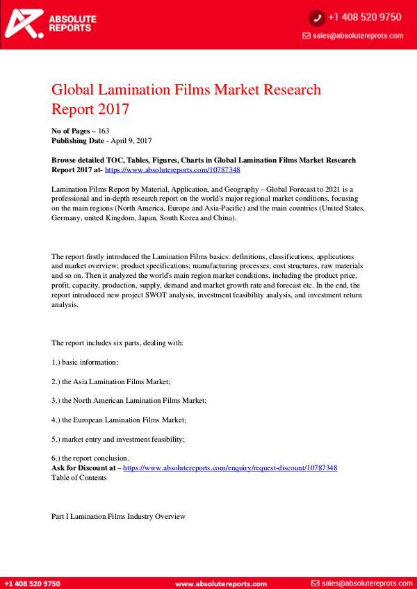 28-07-2017 Lamination-Films-Market-Research-Report-2017