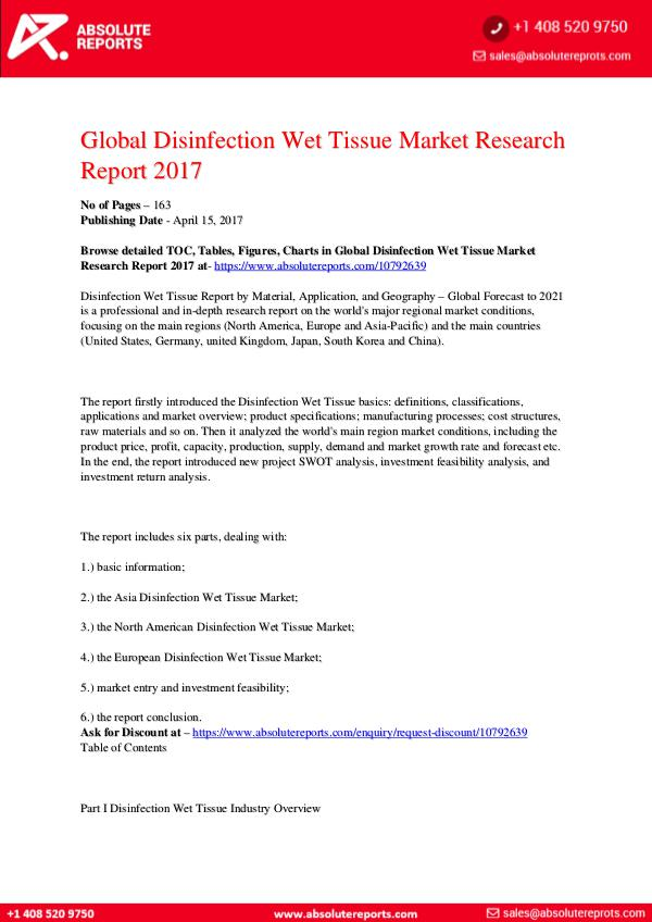 28-07-2017 Disinfection-Wet-Tissue-Market-Research-Report-201