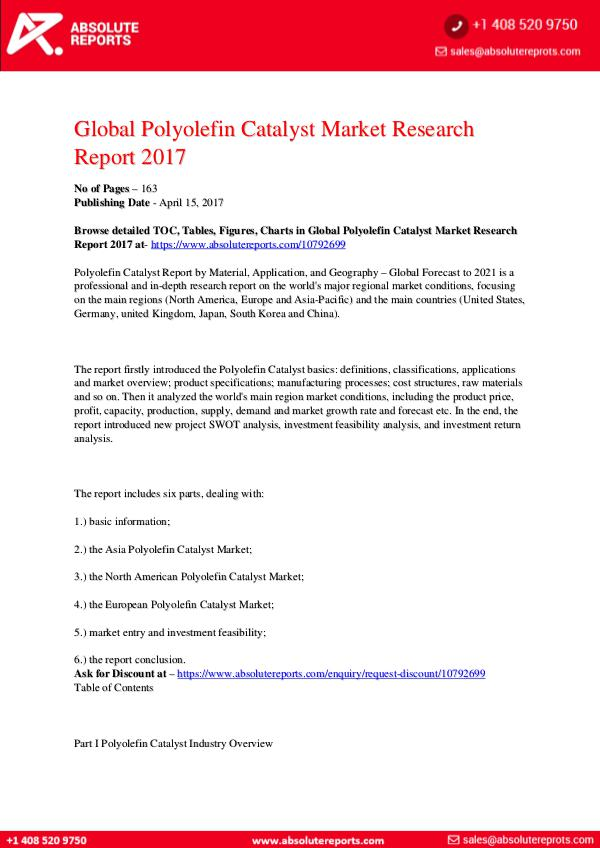 28-07-2017 Polyolefin-Catalyst-Market-Research-Report-2017