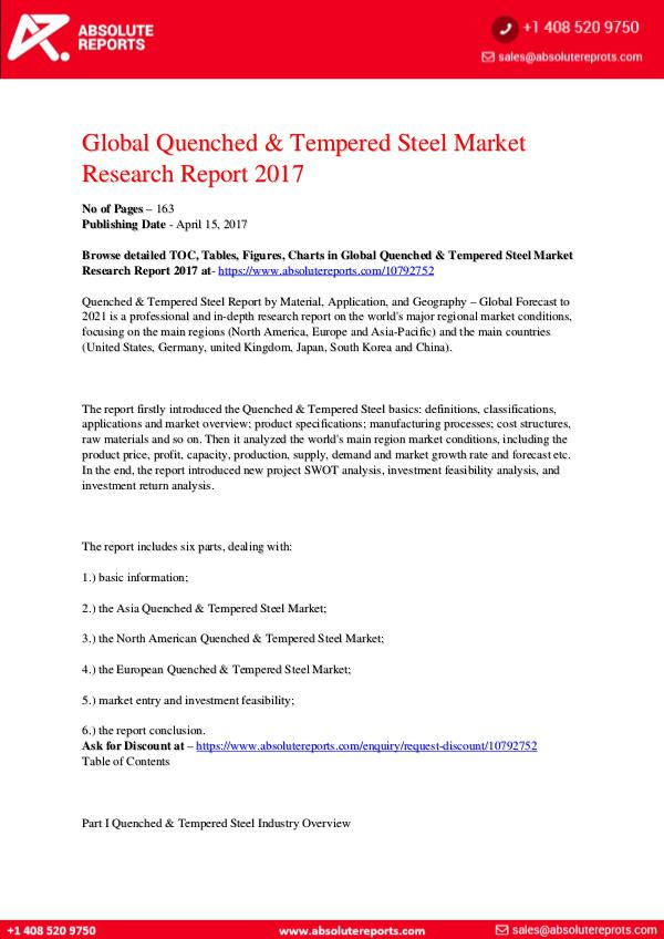 Quenched-Tempered-Steel-Market-Research-Report-201