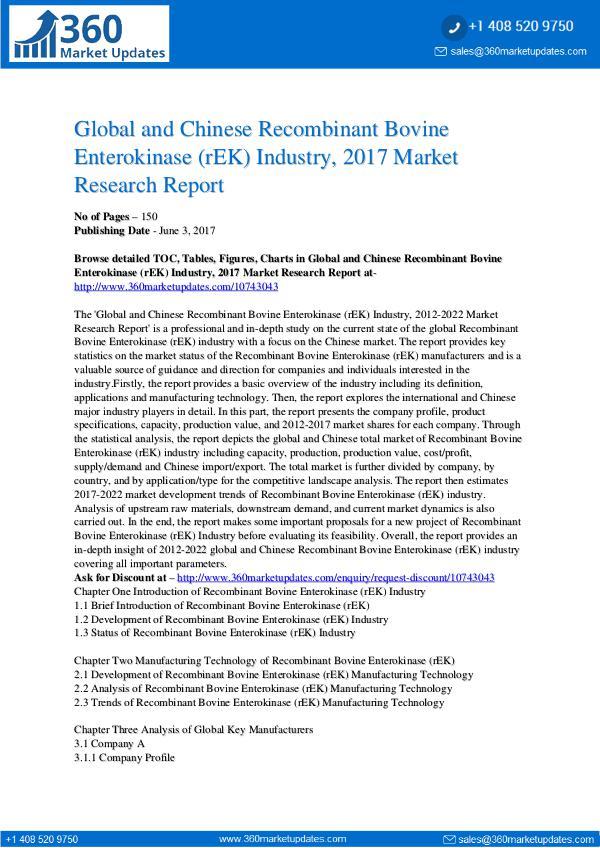 23-06-2017 Recombinant-Bovine-Enterokinase-rEK-Industry-2017-