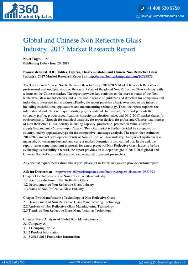 Non-Reflective-Glass-Industry-2017-Market-Research