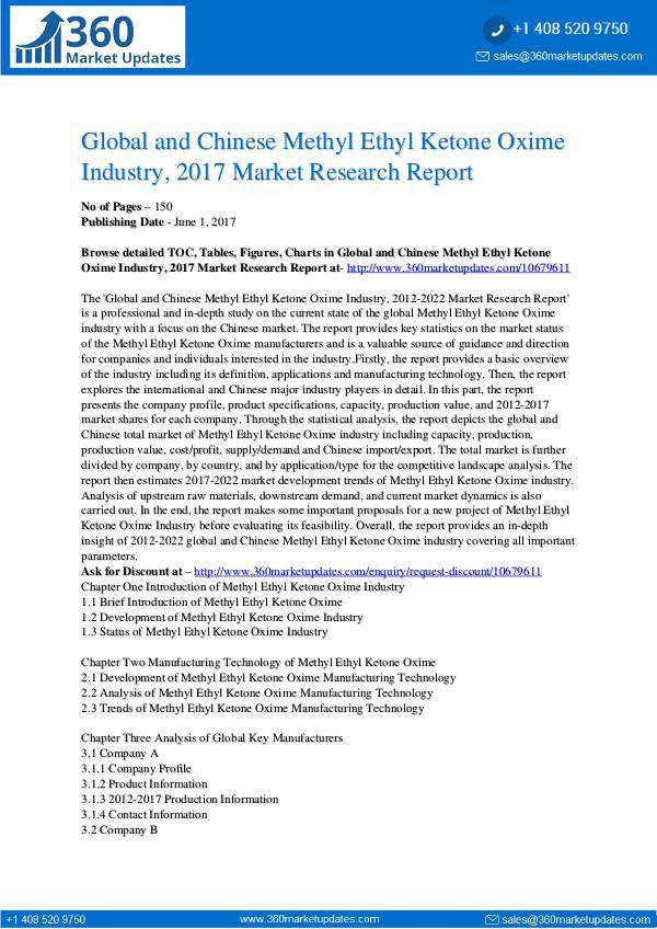 Methyl-Ethyl-Ketone-Oxime-Industry-2017-Market-Res