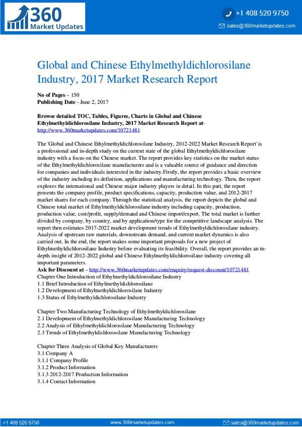 Ethylmethyldichlorosilane-Industry-2017-Market-Res